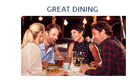 RiverTown is close to Great Dining and Shopping